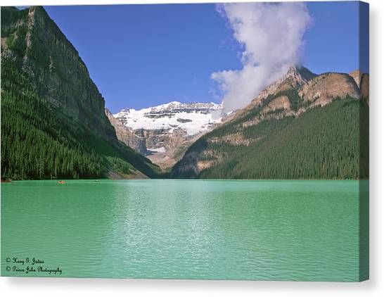 Lake Louise -1 Canvas Print