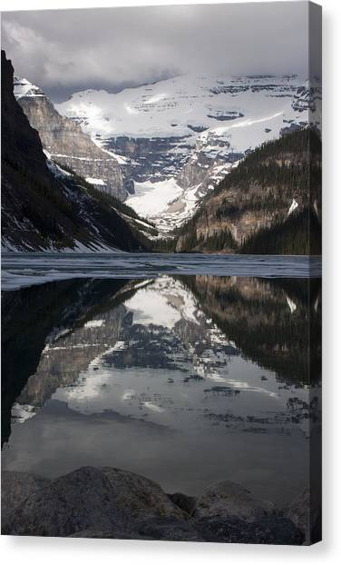 Lake Louise Alberta Canada Canvas Print