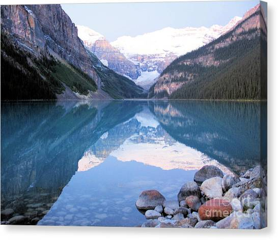 Lake Louise Morning Canvas Print