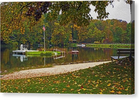 Lake Lucerne Canvas Print