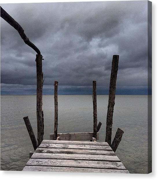 Manitoba Canvas Print - #lake #manitoba #water #dock #nature by Mark Lindal