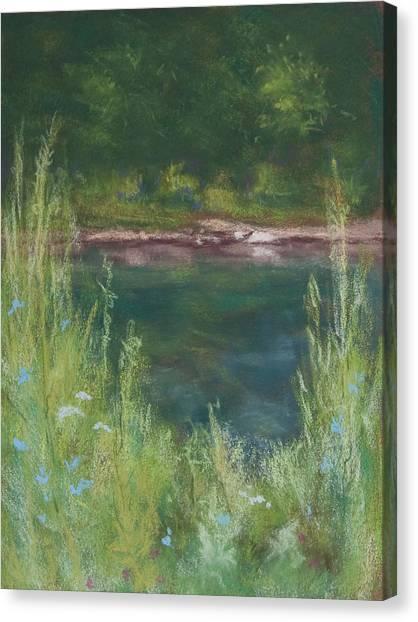 Lake Medina Canvas Print