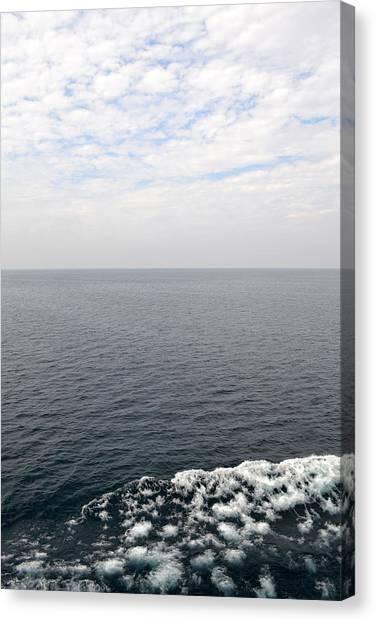 Lake Michigan Midpoint Canvas Print