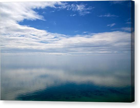 Lake Michigan's Lost Horizon Canvas Print