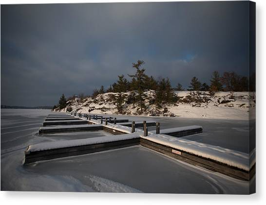 Lake Muskoka Canvas Print