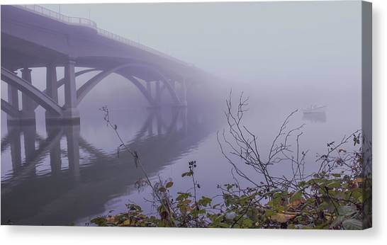Lake Natoma Crossing Canvas Print