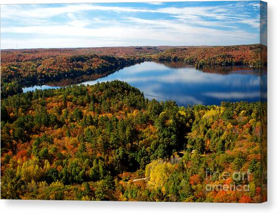Lake Of Bays Canvas Print
