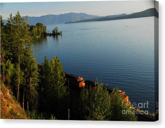 Lake Pend Orielle Canvas Print