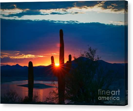 Lake Pleasant Arizona Canvas Print