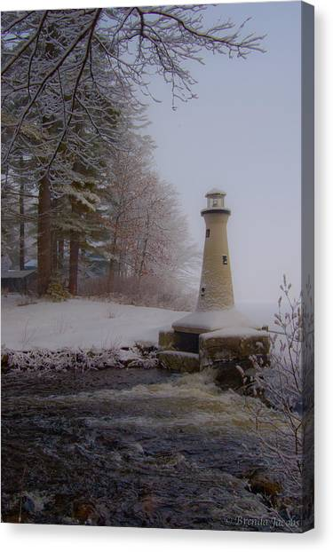 Lake Potanipo Lighthouse Canvas Print