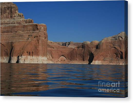 Lake Powell Landscape Canvas Print