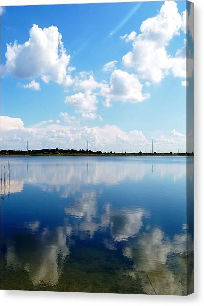 Lake Sears 000 Canvas Print by Chris Mercer