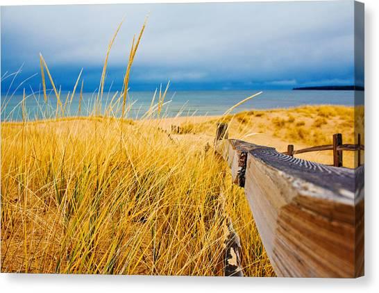 Lake Superior Beach Canvas Print