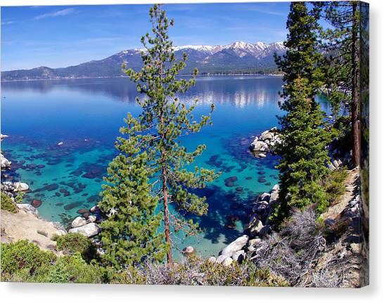 Lake Tahoe Beauty Canvas Print