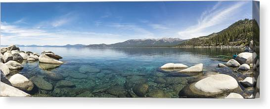 Mcherdering Canvas Print - Lake Tahoe Calm by Mike Herdering