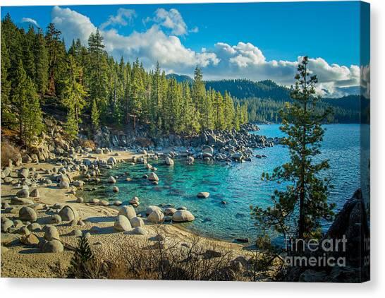 Lake Tahoe Hidden Cove Canvas Print