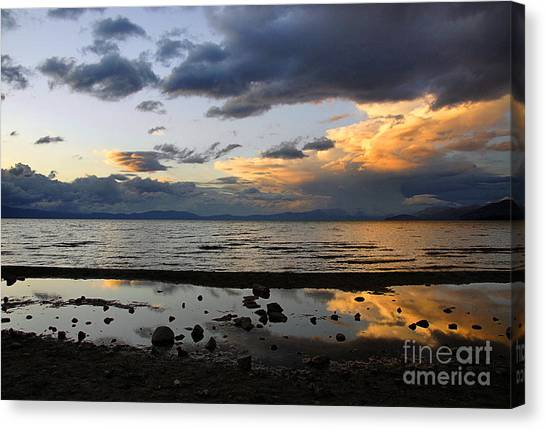 Lake Tahoe In May Canvas Print