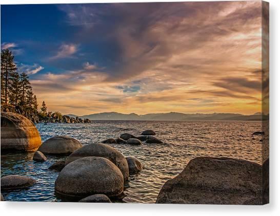 Lake Tahoe Sunset Canvas Print