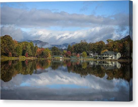 Lake Tomahawk Canvas Print