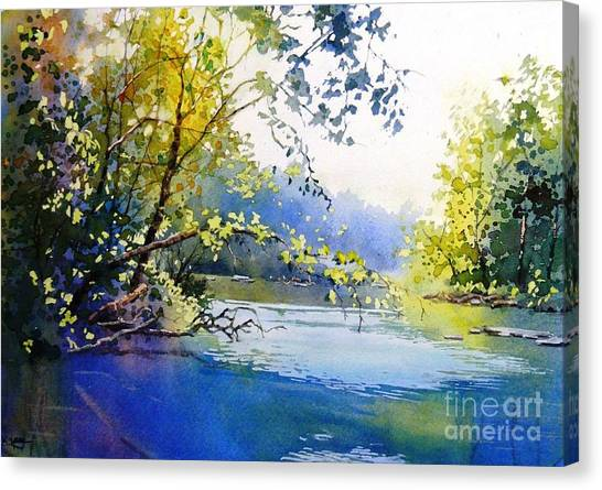 Lake View 2  Canvas Print