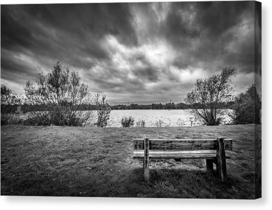 Lake View. Canvas Print