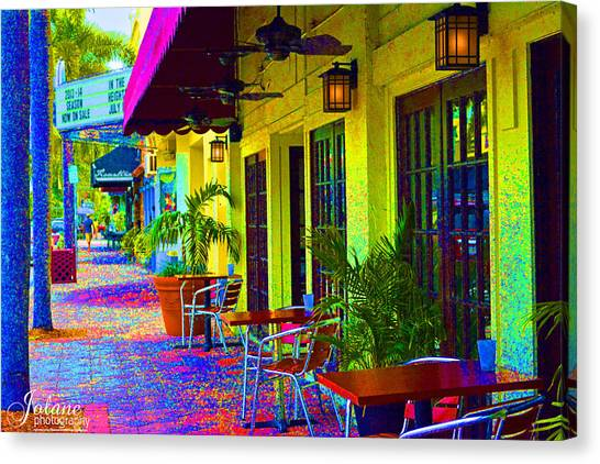Lake Worth Playhouse Canvas Print