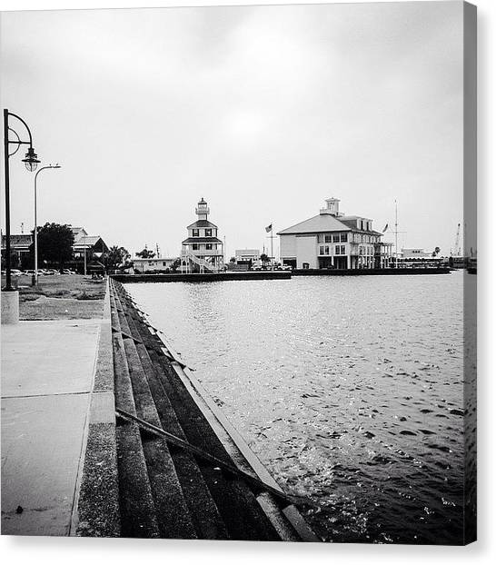 Lighthouses Canvas Print - Lakefront At West End #nola by Scott Pellegrin