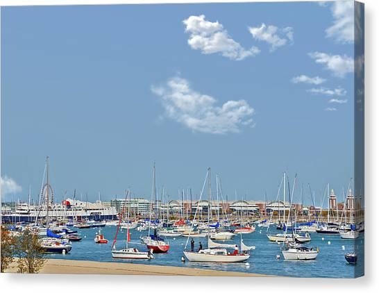 Lakefront Chicago Canvas Print