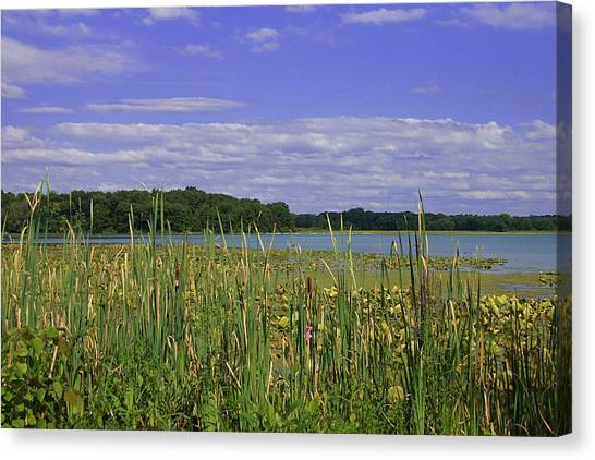 Lakes Of Indiana Canvas Print by Thomas Fouch