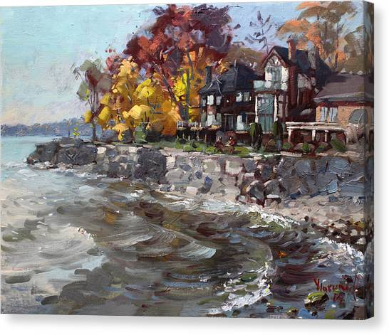 Ontario Canvas Print - Lakeshore Mississauga by Ylli Haruni
