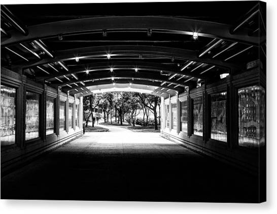 Lakeshore Tunnel Canvas Print