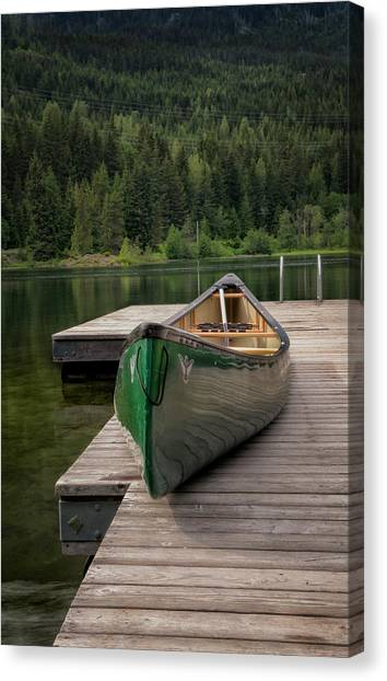 Lakeside Peace Canvas Print