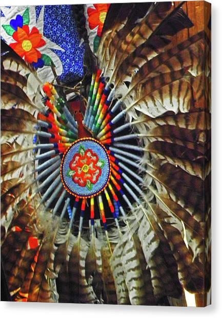 Lakota Feather Dance Canvas Print