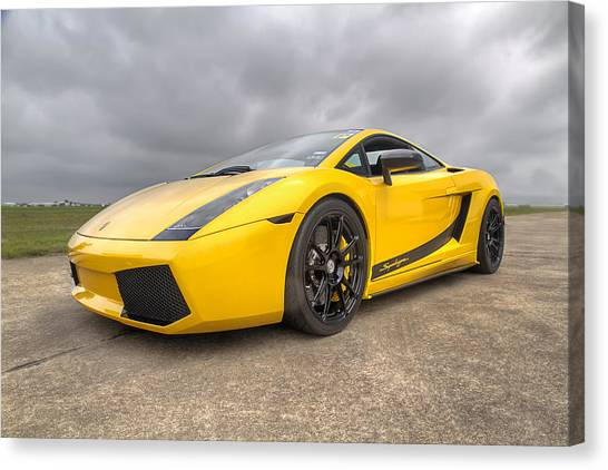 Lamborghini Gallardo Superleggera Canvas Print