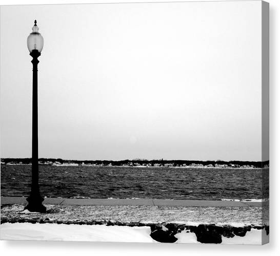 Lamp Canvas Print