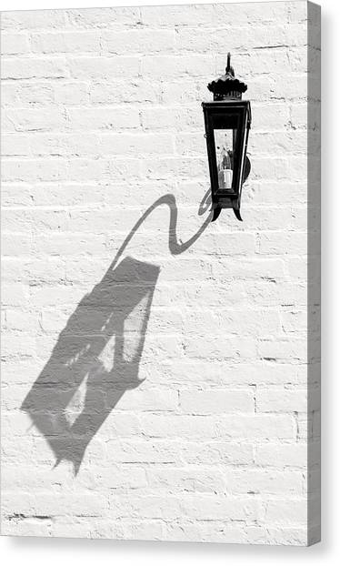 Lamp Shadow Canvas Print