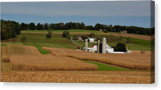 Lancaster County Farm Canvas Print