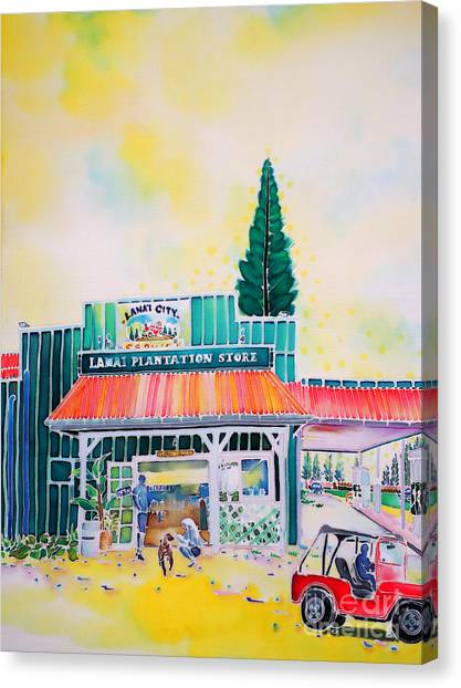 Lanai City Canvas Print