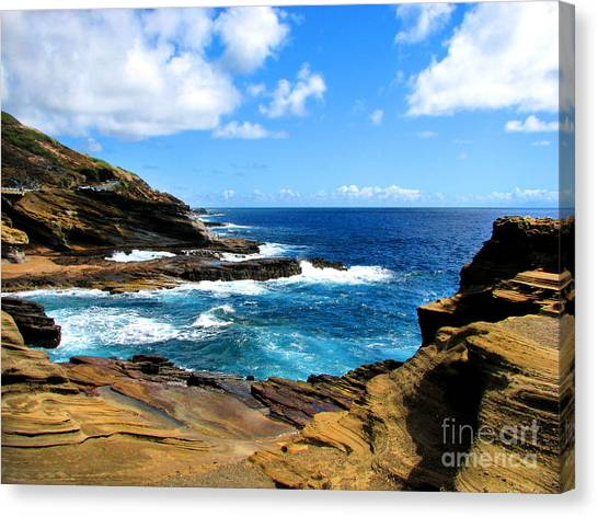 Lanai Scenic Lookout Canvas Print