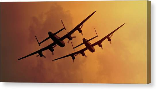 Lancasters Canvas Print