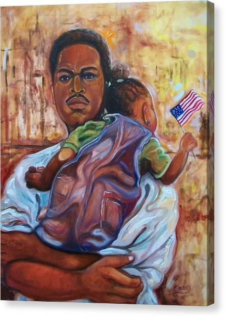 Land Of Free 2 Canvas Print
