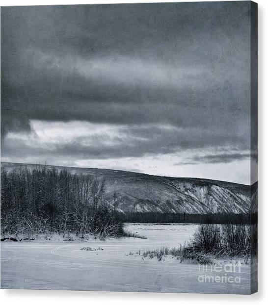 Yukon Canvas Print - Land Shapes 14 by Priska Wettstein
