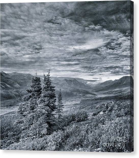Yukon Canvas Print - Land Shapes 18 by Priska Wettstein