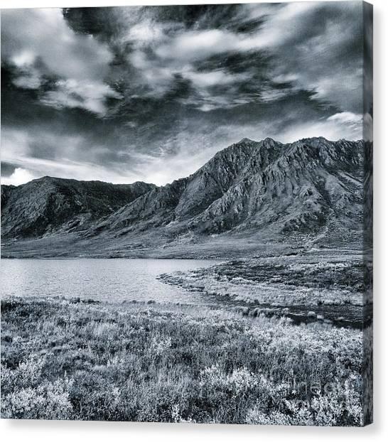 Tundras Canvas Print - Land Shapes 33 by Priska Wettstein