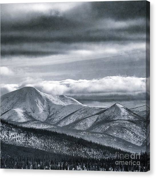 Yukon Canvas Print - Land Shapes 4 by Priska Wettstein
