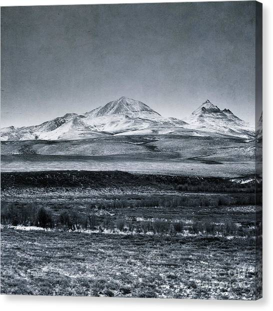 Tundras Canvas Print - Land Shapes 7 by Priska Wettstein