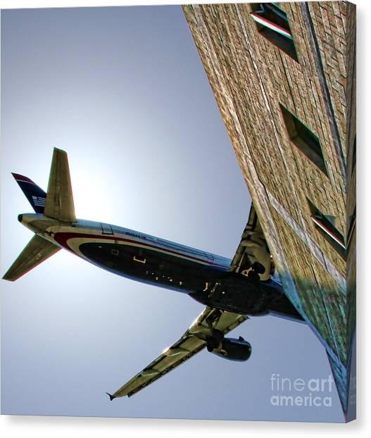 Landing By Diana Sainz Canvas Print