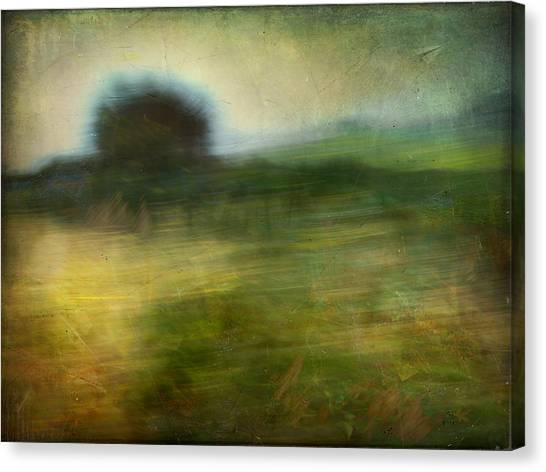 Landscape #24. Paper Dreams Canvas Print by Alfredo Gonzalez