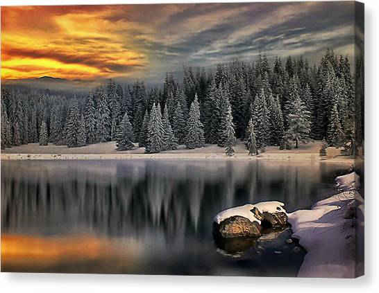 Landscape Art Canvas Print