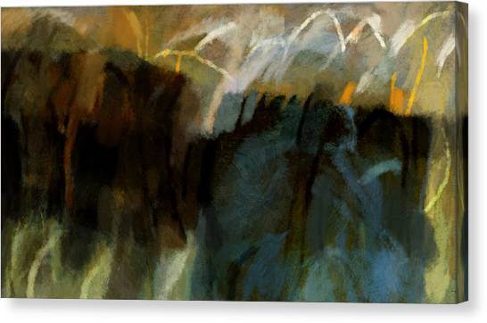 Landscape Forms Canvas Print by Jeremy Norton